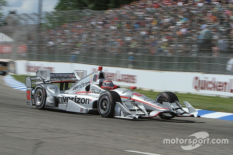 Will Power guida la doppietta Penske in Gara 2 a Detroit