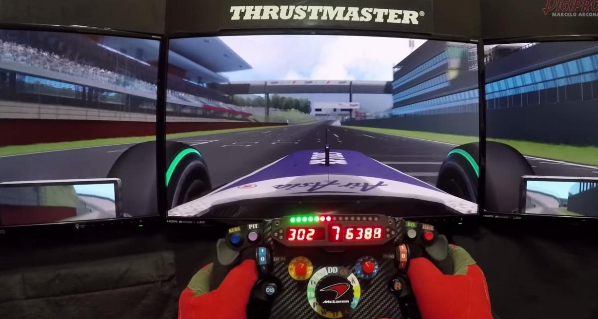 F1-es szimulátoros élmény: Williams FW31 Mugellóban