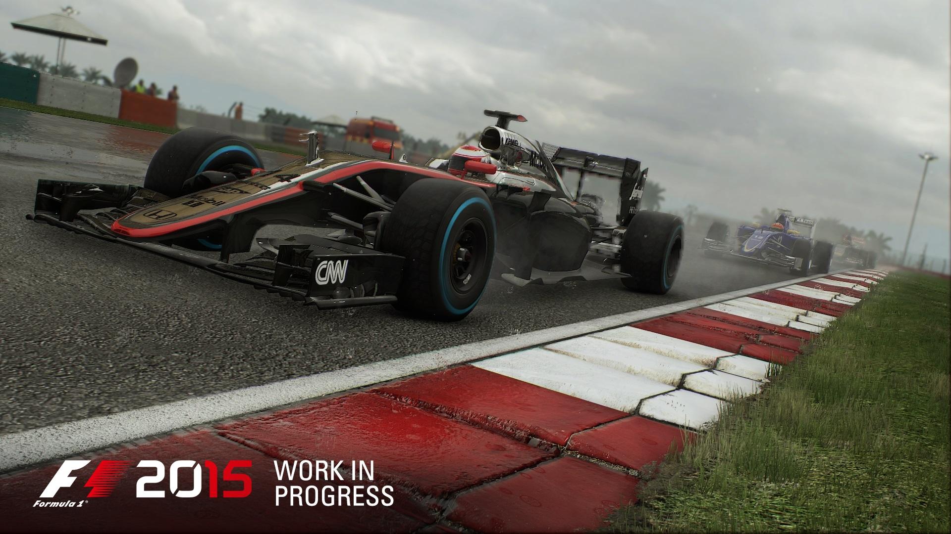 Új képek érkeztek a Forma-1 2015 játékhoz