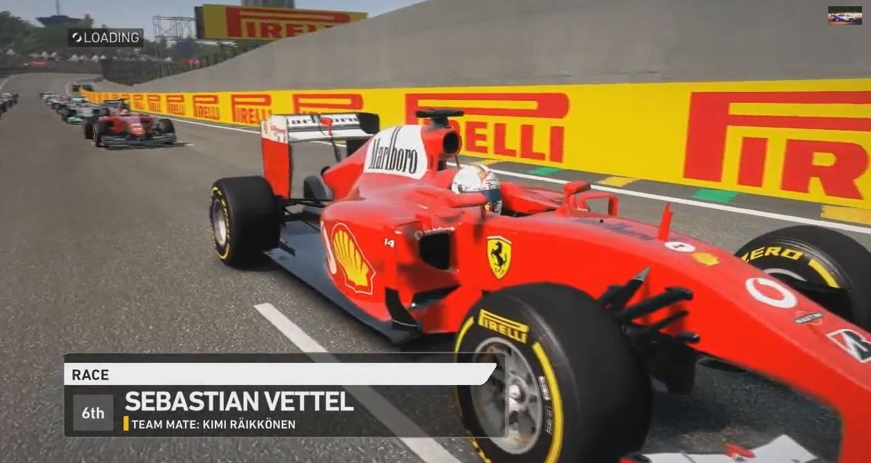 F1 2014: Vettel az új sisakjában a Ferrarival: A gép festése is érdekes
