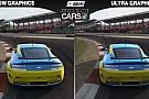 Project CARS: Alacsony és nagyon magas grafikai beállításokkal a játék