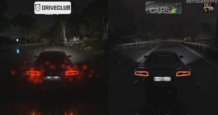 DriveClub Vs. Project CARS: Egymás ellen a két játék az esőben
