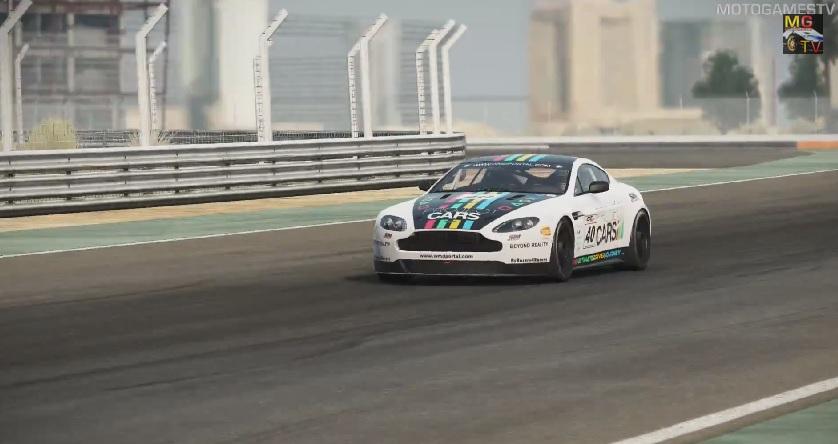 Project CARS: Nagyon állatul szól az Aston Martin V8 Vantage GT