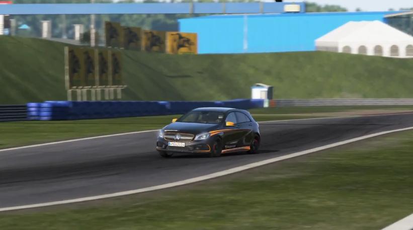 Project CARS: Fantasztikus grafikai élmény a Mercedes A45 AMG volánja mögött