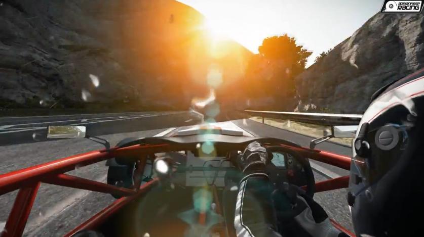 Project CARS: Ariel Atom Mugen a játékban az esős úton