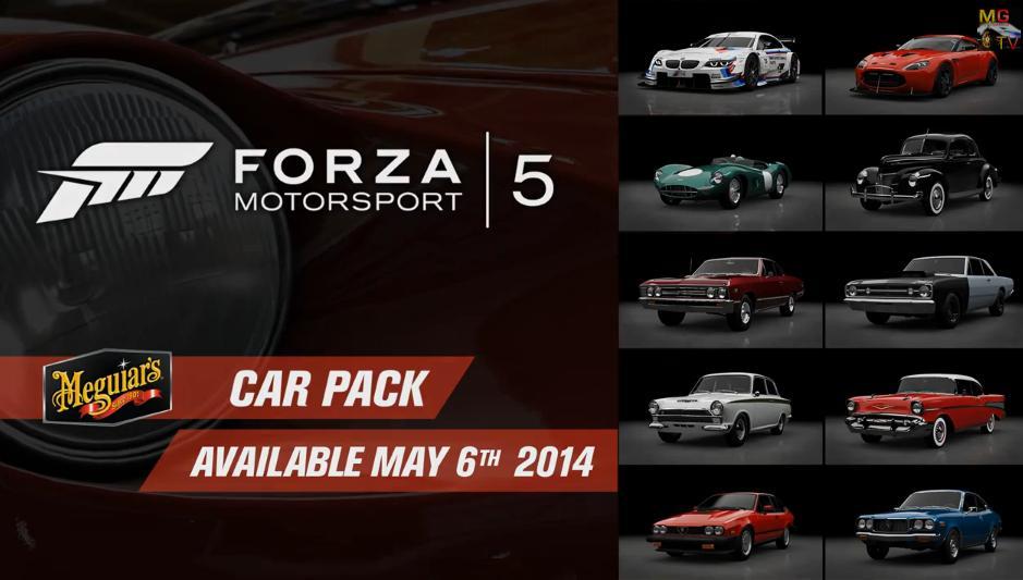 Forza Motorsport 5: Egy nagyon kis ütős autócsomag érkezik