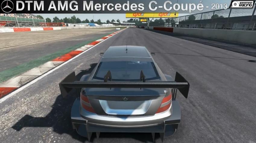 Project CARS: Egy igazi újdonság a játékban – DTM AMG Mercedes