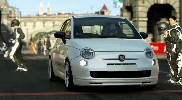 Forza Motorsport 5: Alázás egy Fiat 500-assal