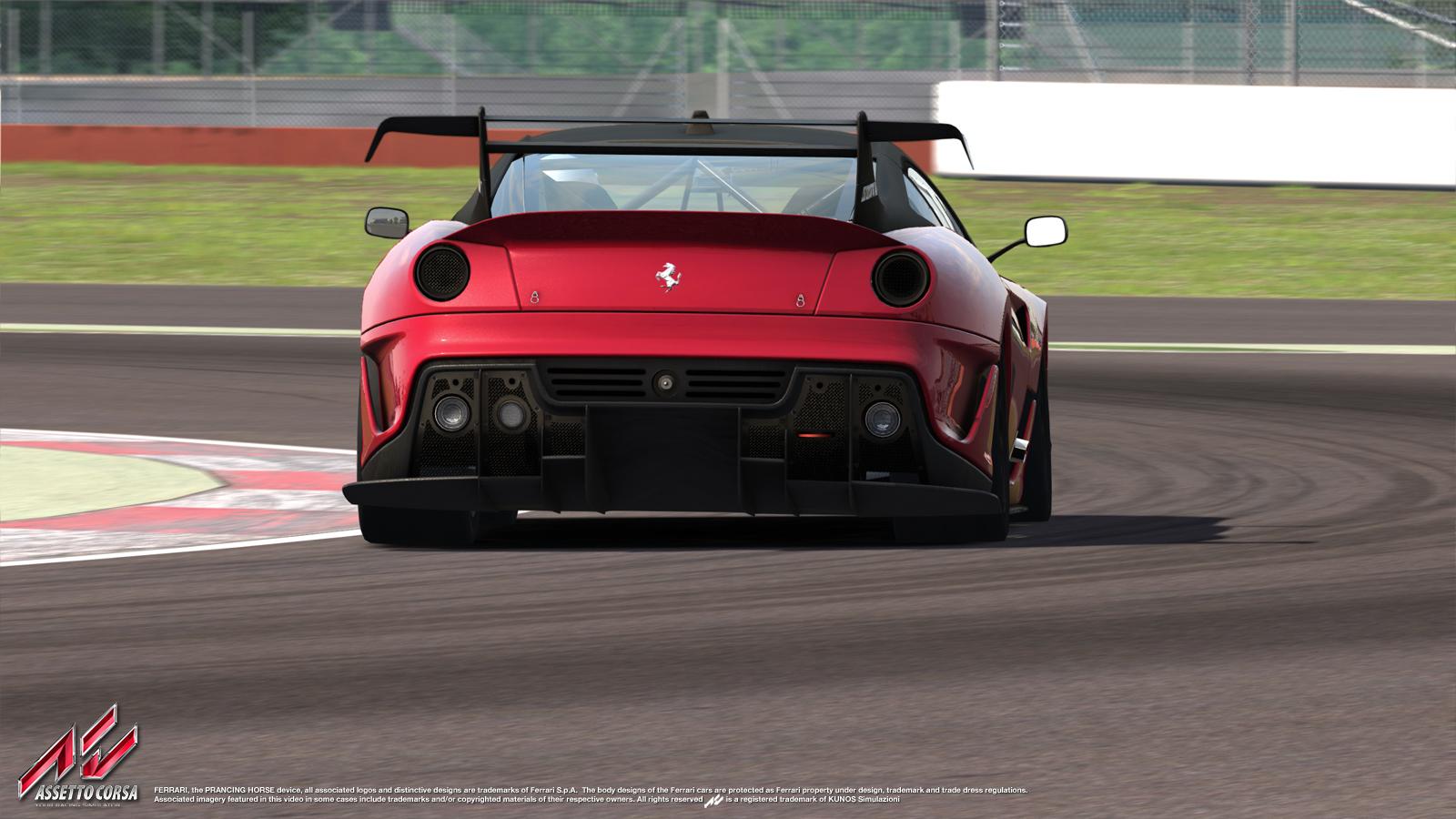 Egy fantasztikus szimulátoros élmény: Ferrari 599XX Evo