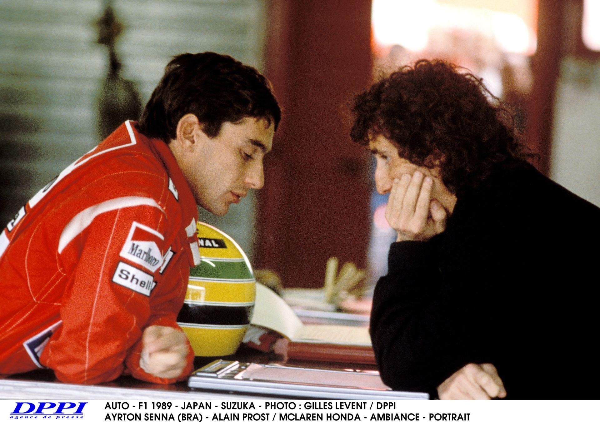 Senna és Prost legendás ütközése Suzukában – 1989