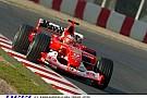 A jó öreg Barrichello és a 2004-es Ferrari Barcelonában