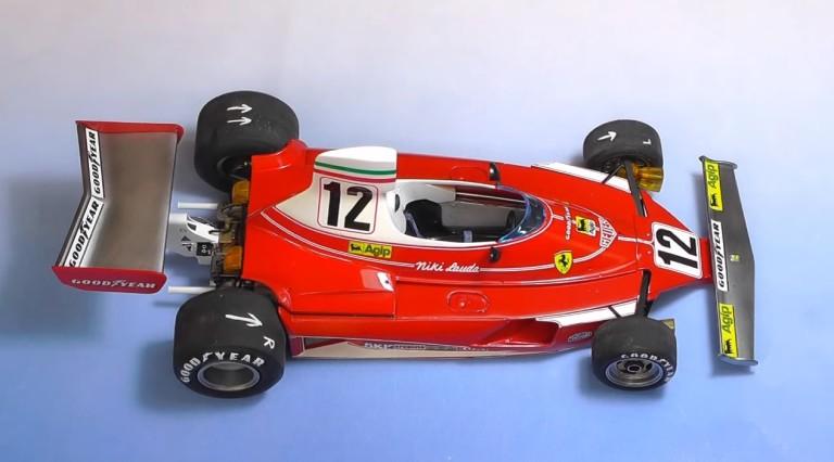 F1-es mestermű otthonra: Ferrari 312T