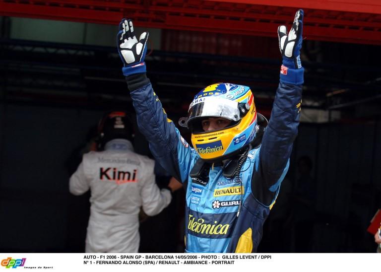 Végre egy nap, amikor Alonso győzelmét ünnepelheted
