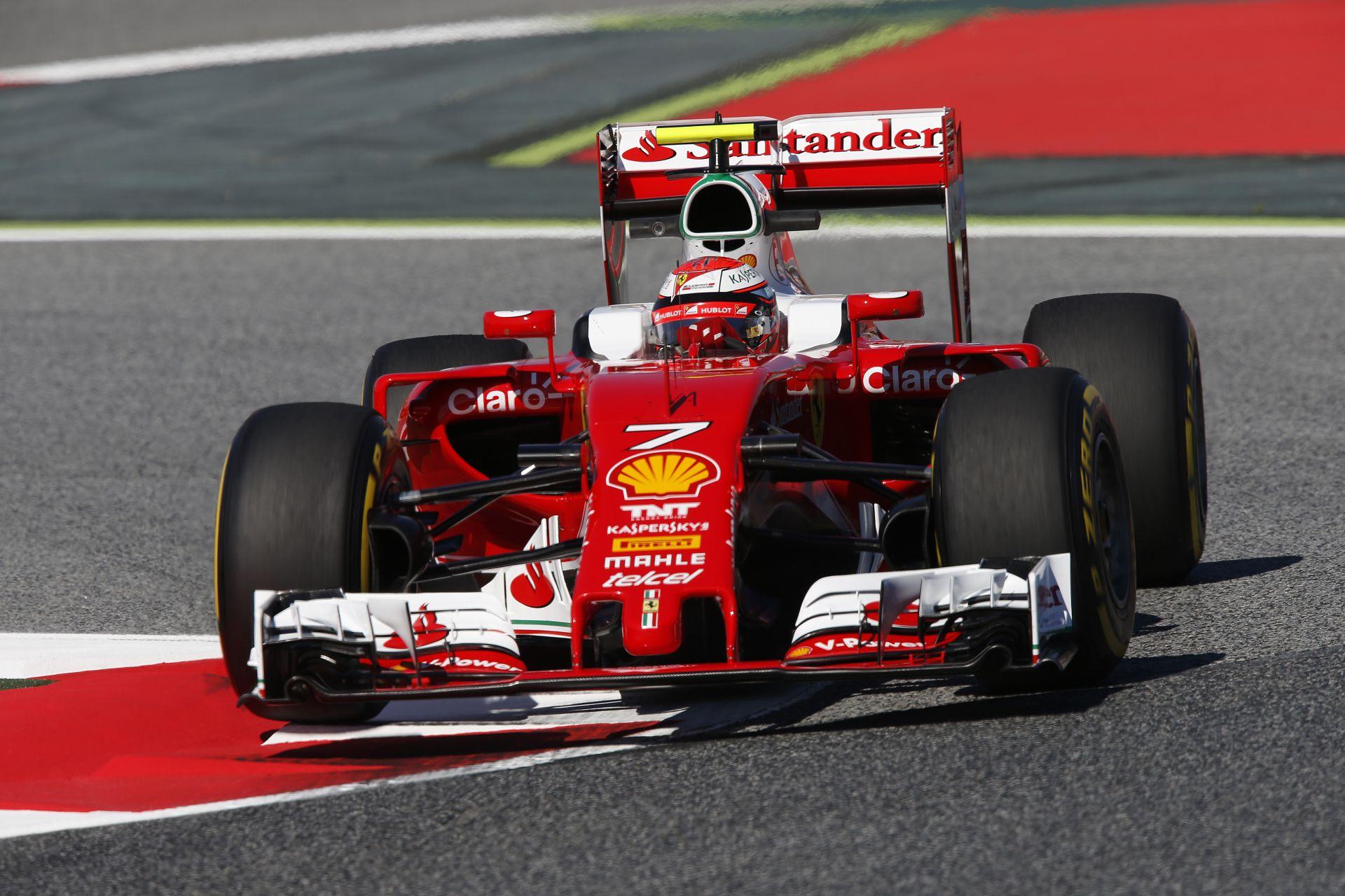 Raikkönen megint legyőzte Vettelt, de ez még így is kellemetlen