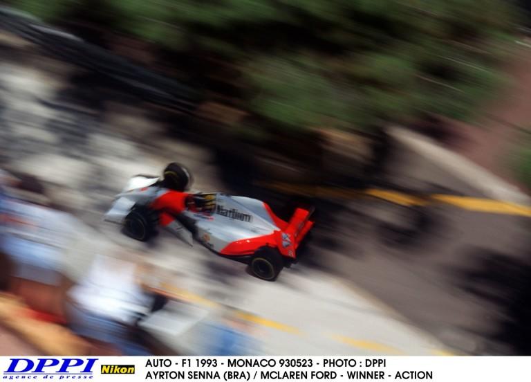 Ayrton Senna 39. győzelme a Forma-1-ben: 1993-ban ezen a napon Monacóban
