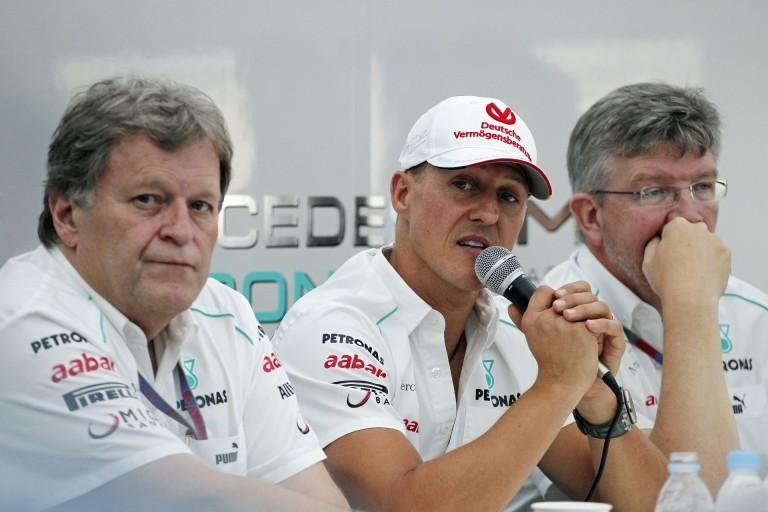 Senkinek semmi köze ahhoz, hogy mi van Schumacherrel