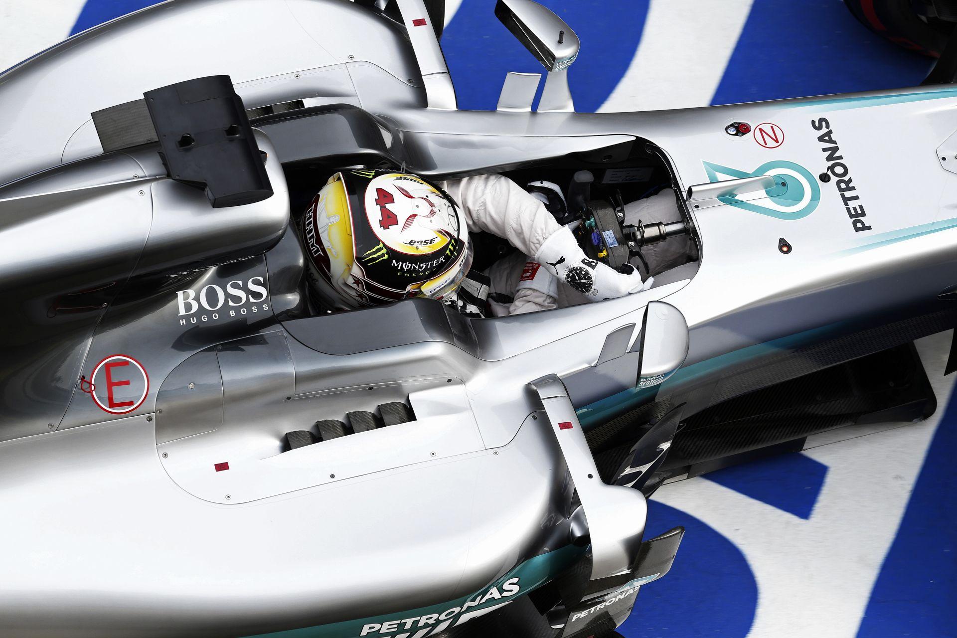 """Hamilton: """"Semmivel nem tartozom a Forma-1-nek, mert mindenki másnál jobban hirdetem azt..."""""""