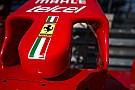 Ferrari: c'è la sospensione posteriore, smentito il muso nuovo