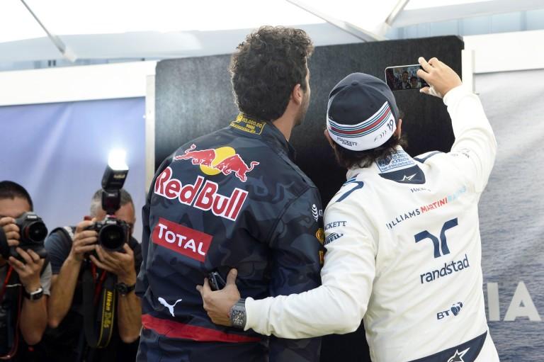"""Videón Ricciardo és Felipinho """"nagyon komoly"""" gokartversenye!"""