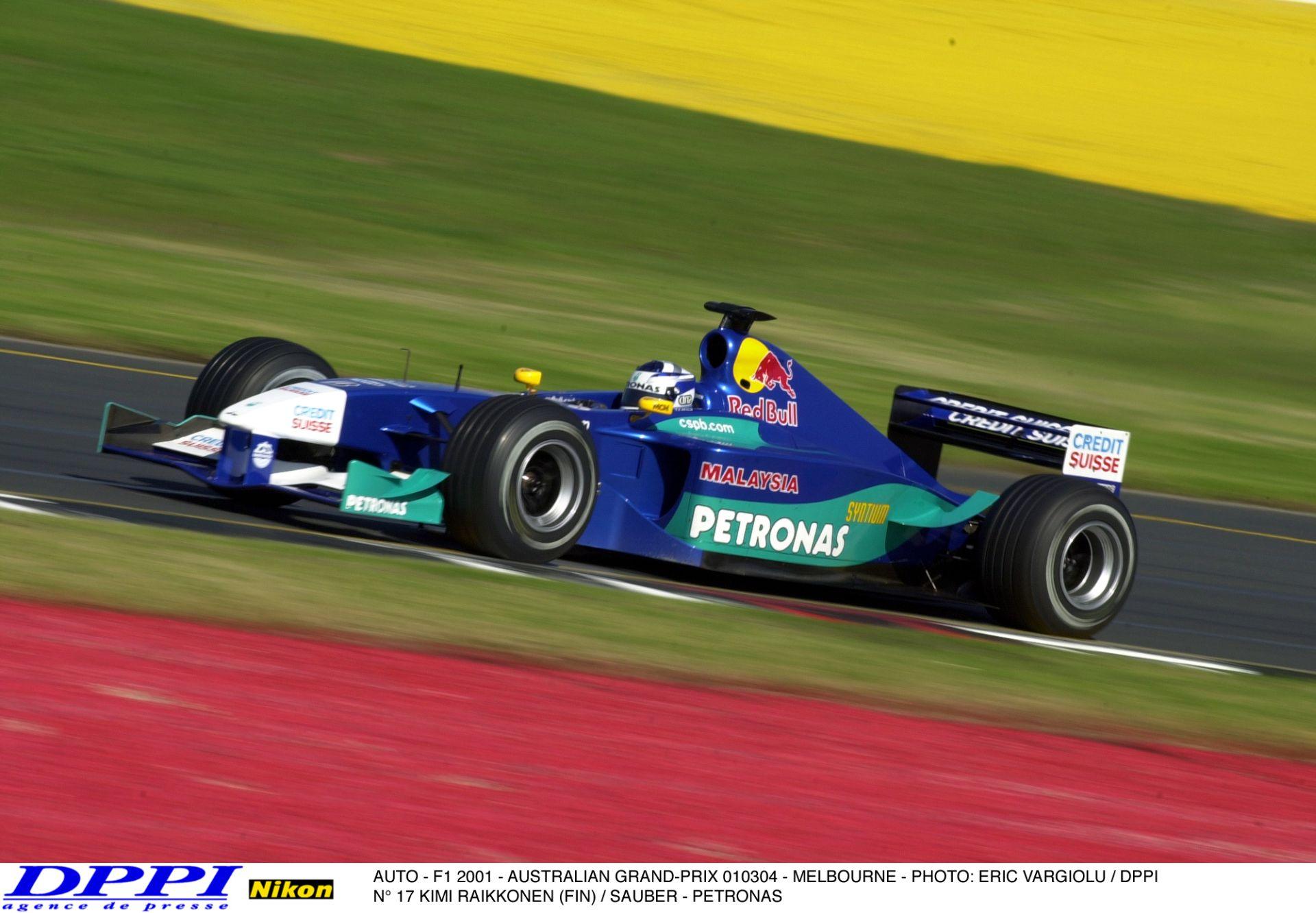 Raikkönen brutális tempója a Sauberrel, rögtön az első időmérőjén - 2001, Ausztrália