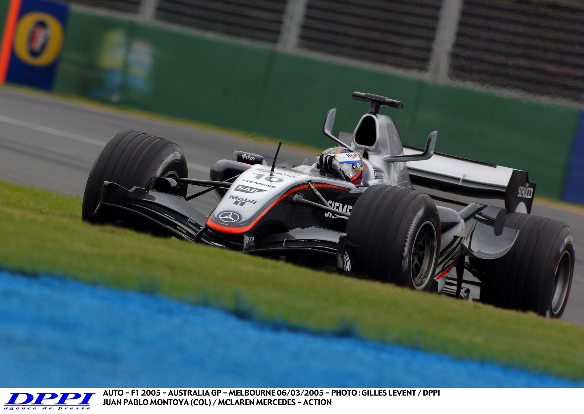 Egy V10-es pályabejárás Montoyával és a McLarennel: Albert Park