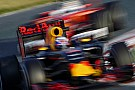 Képen a Red Bull sajátos halo megoldása, már üveggel! Itt az új futurisztikus F1-es megoldás