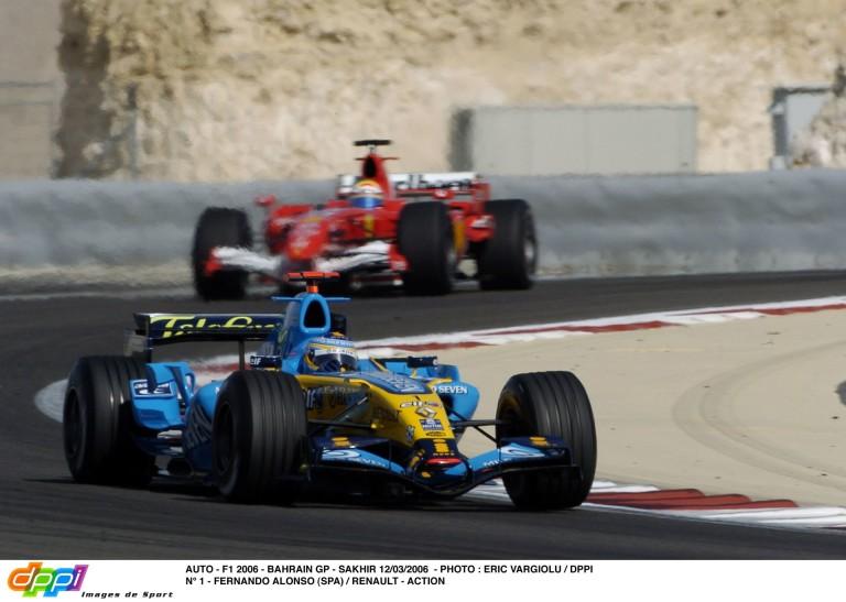 Hangmámor: ilyen volt a Bahreini Nagydíj 2006-ban