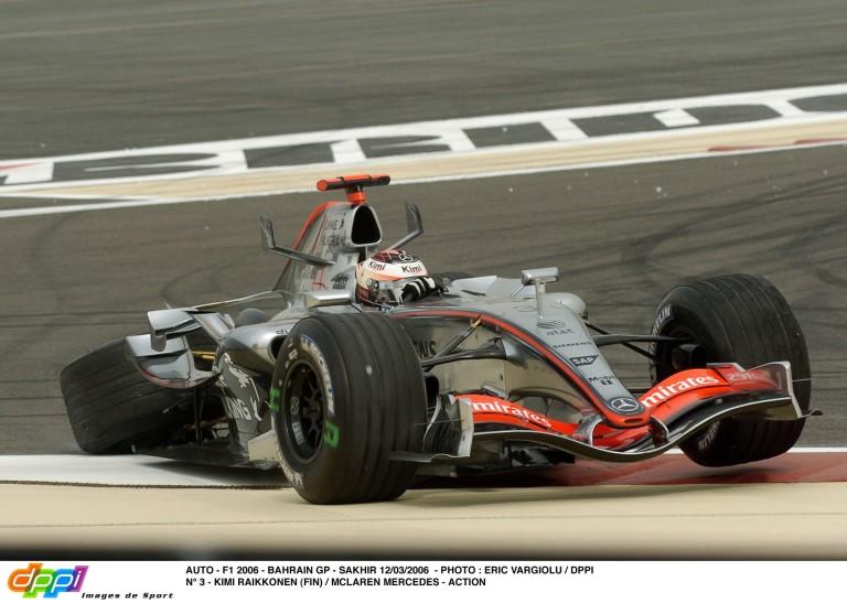 Raikkönen sokkoló jelenete a McLarennel: leszakadt kerékkel ment vissza a bokszba Bahreinben