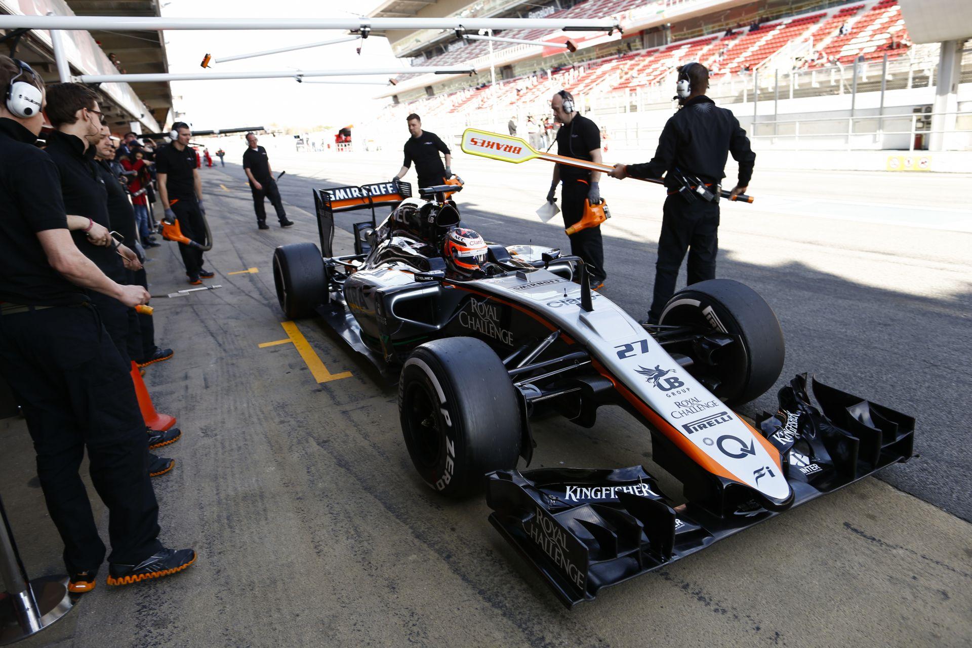 Hihetetlen: a Force India is reggel 8 óra 30 perckor mutatja be az új autóját