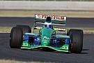 Michael Schumacher első autója a Forma-1-ben