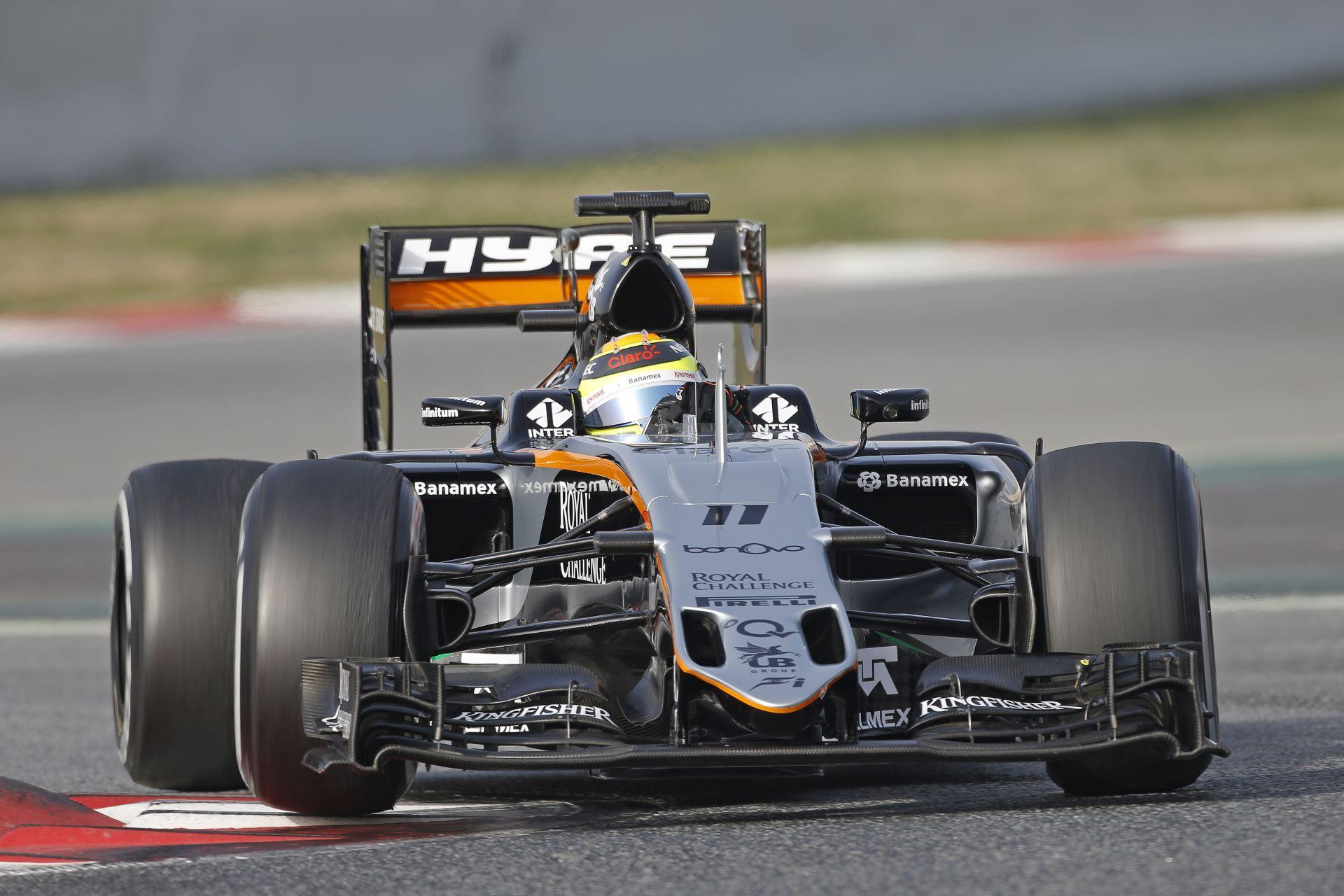 Izmozott a Force India Barcelonában?