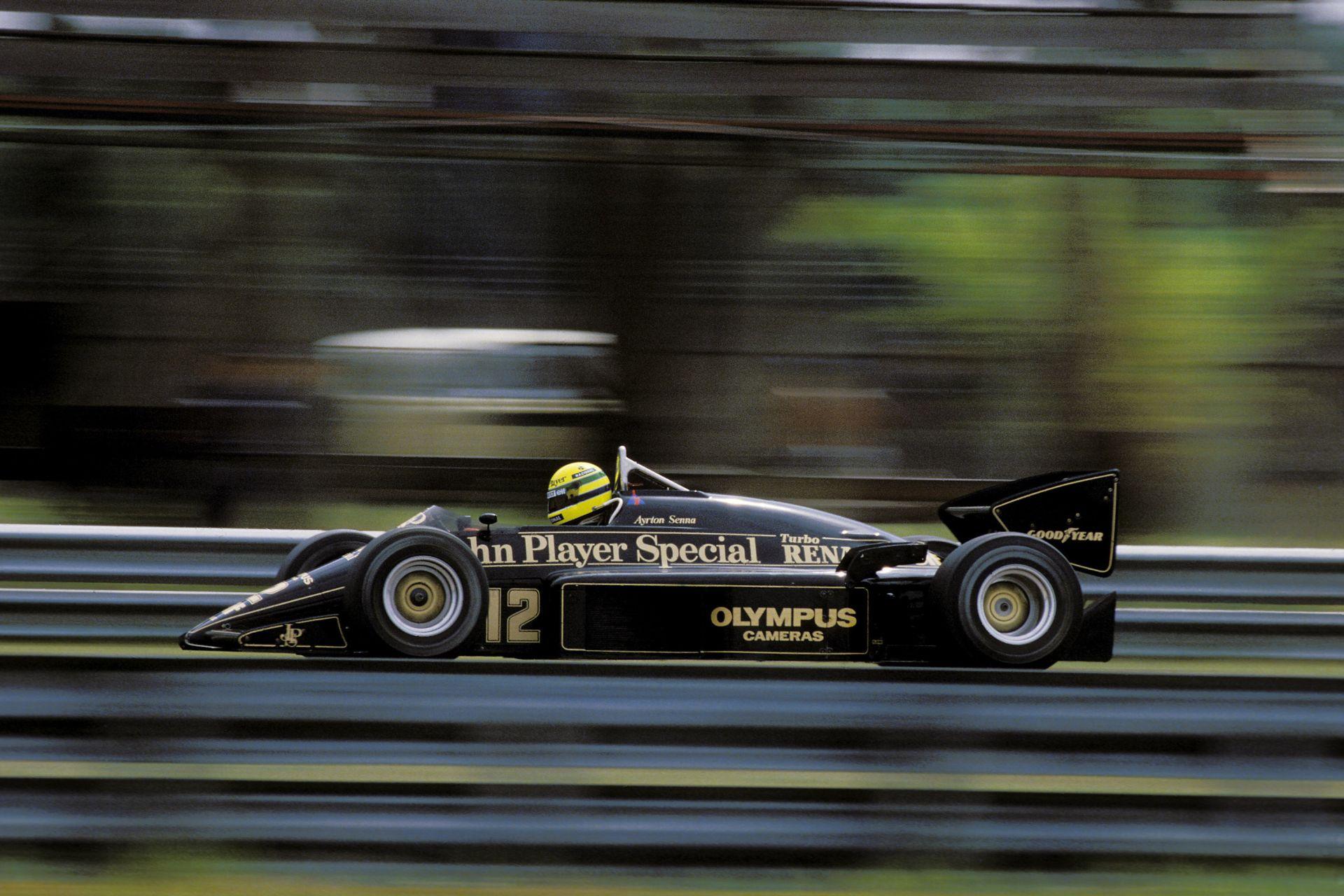 1986-ban ennyit kellett gépészkedni egy F1-es autóban