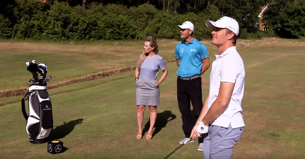 Rosberg golfban sem rossz, sőt!