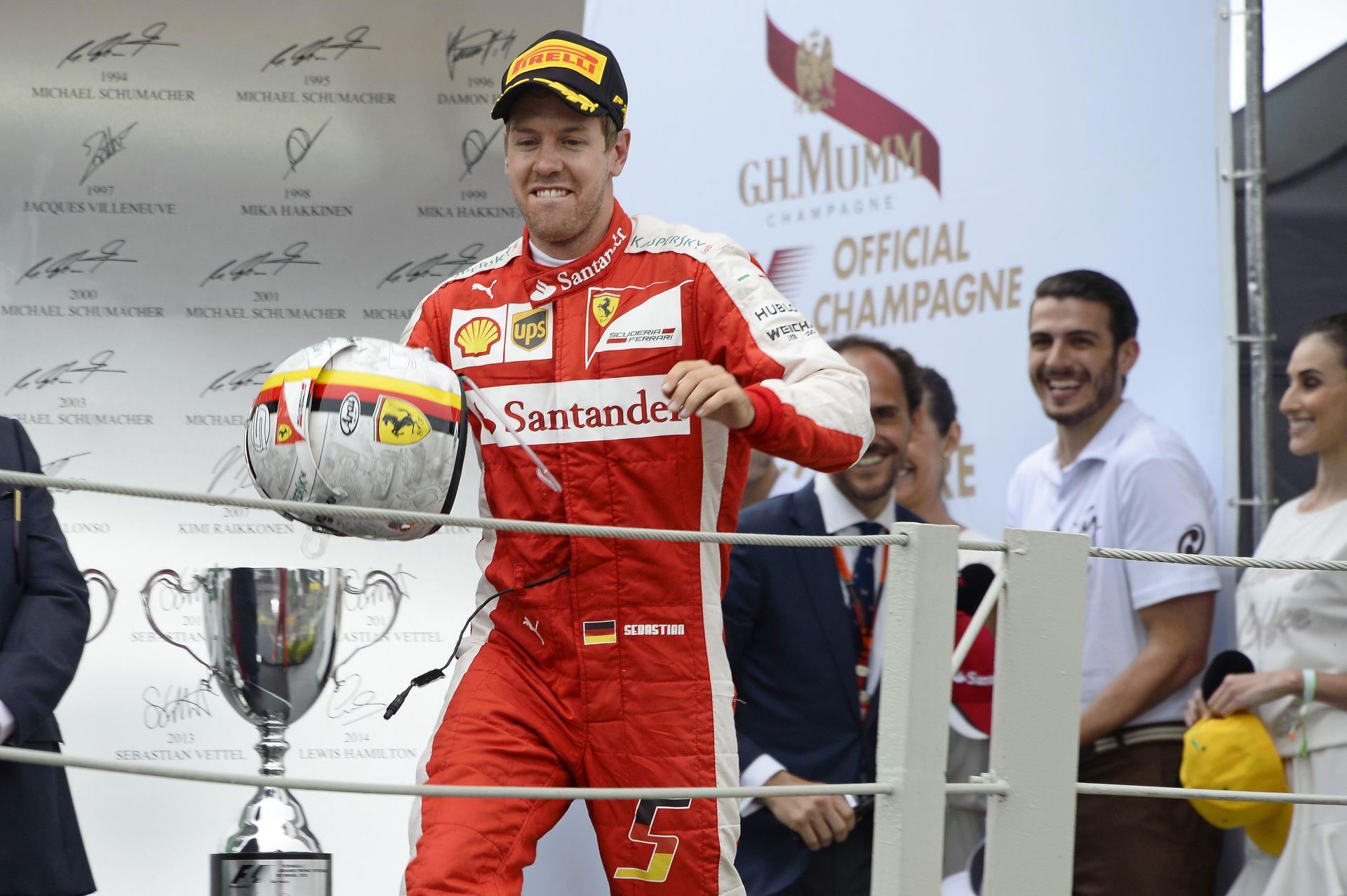 Vettel egy NFL játékosnak is elmenne: micsoda TOUCHDOWN?!