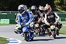 Grosjean motogp-s, minimotoros mókát szeretne péntekenként!