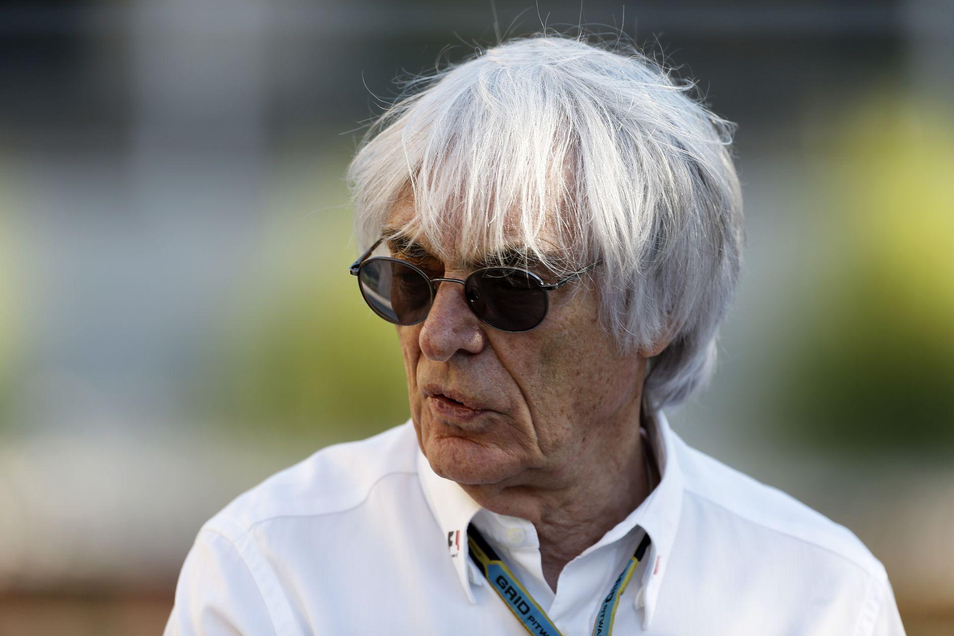A lassan 85 éves Ecclestone őszintén az életéről, a Forma-1-ről, és a hajáról...