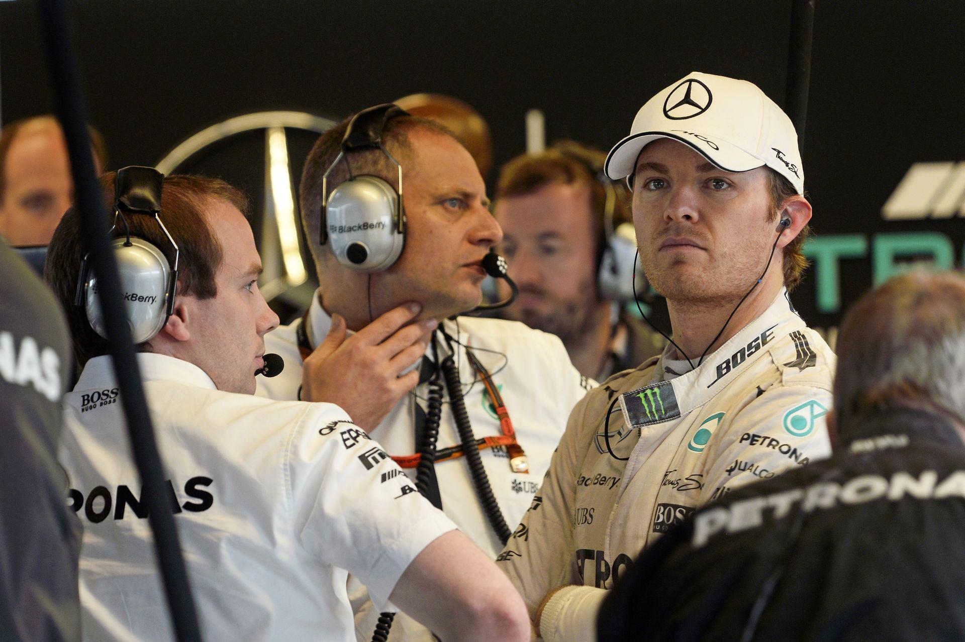 Ilyen egy igazi sportember: Rosberg részt vett Hamilton bajnoki partiján