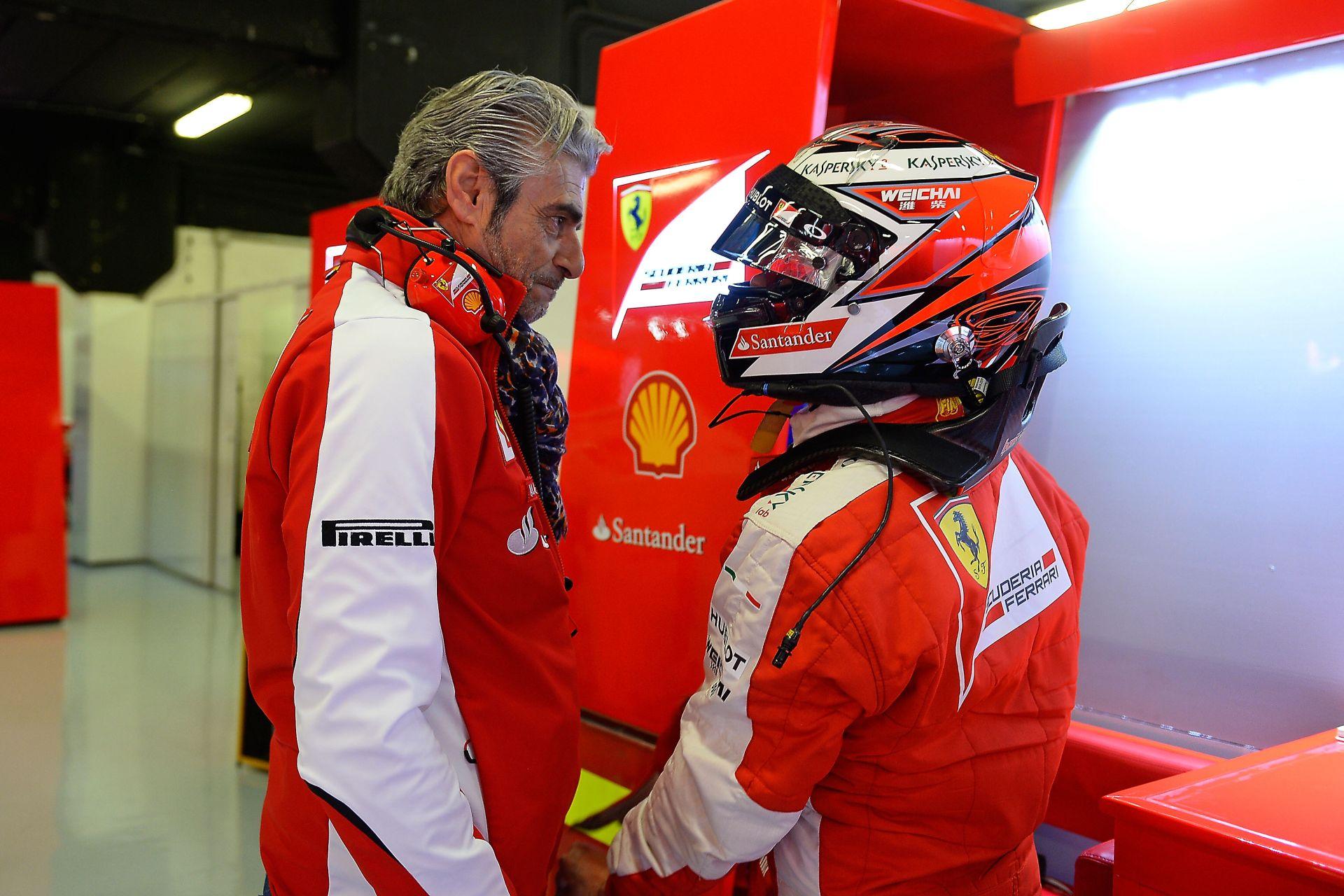 """A Ferrari és Raikkönen sem akart """"hülyét"""" csinálni magából a rajongók előtt"""