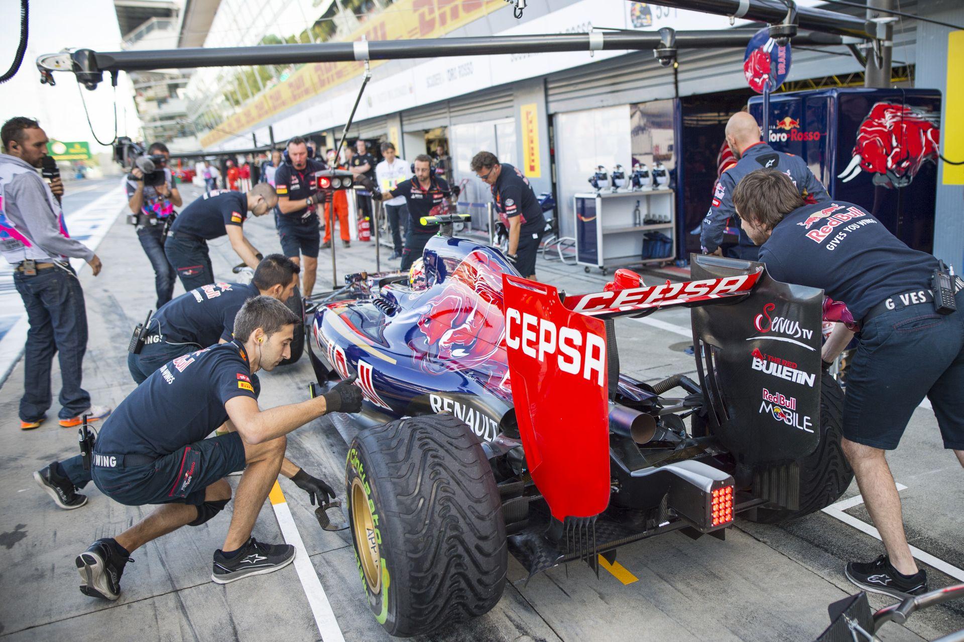 """Igazi F1-es """"pornót"""" láthattunk tegnap Monzában"""