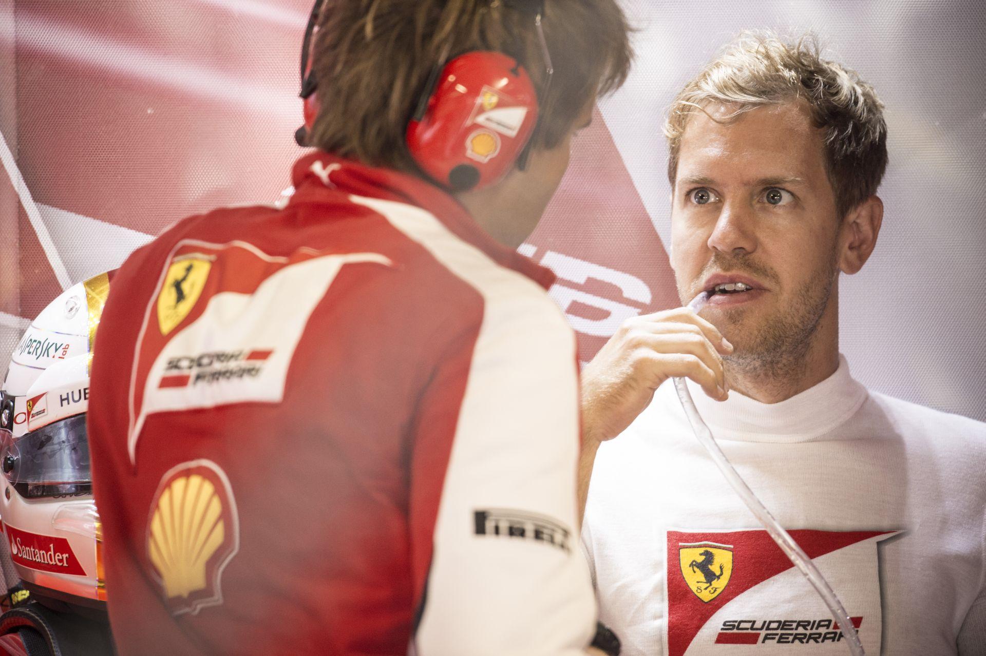 Sokat fejlődött Vettel olasza: így ad interjút a német világbajnok