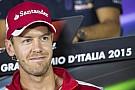 Vettel énekelt a levezető körben, ami nagyon tetszett a Ferrarinak