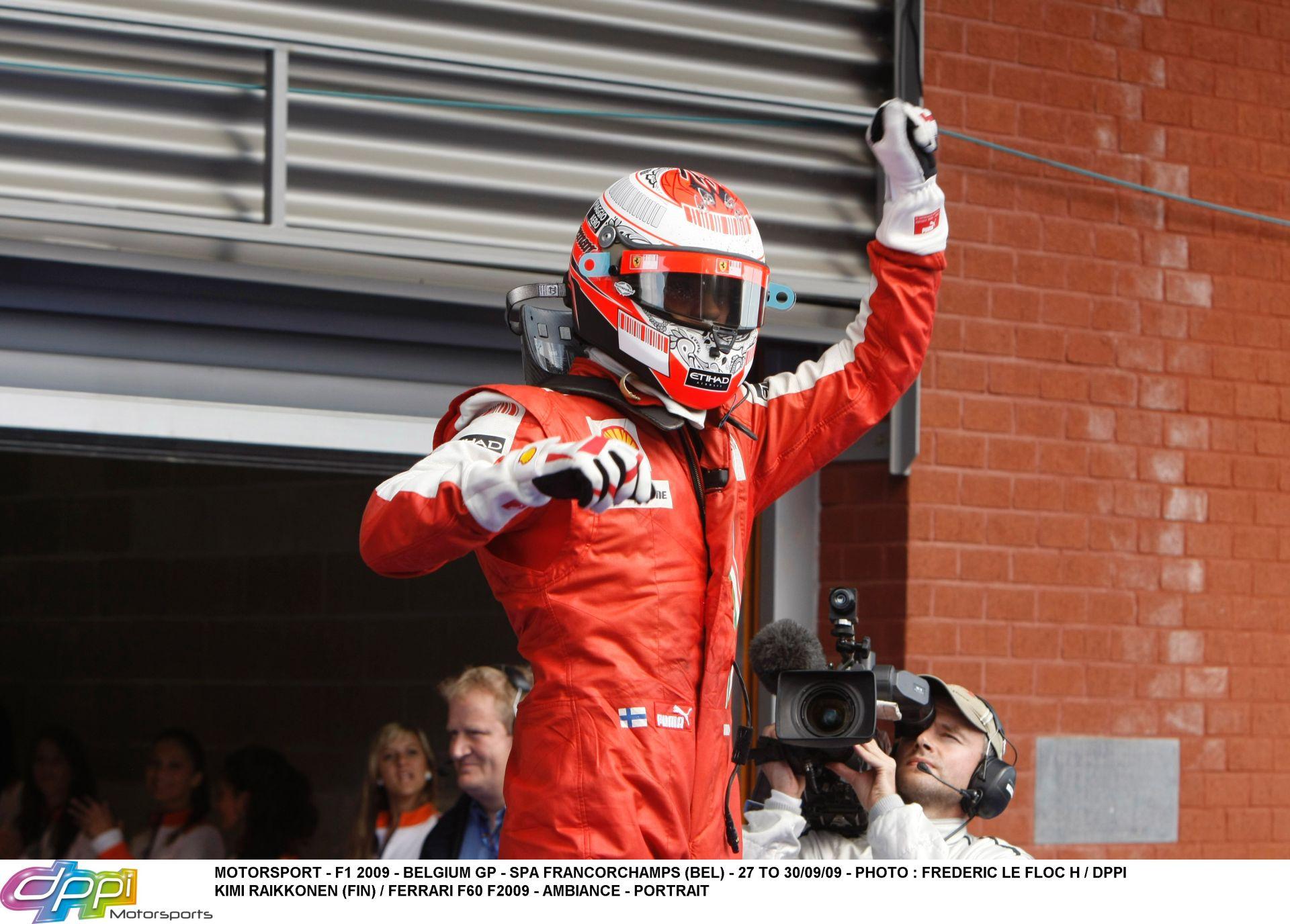 Raikkönen: 2009-ben egy nem túl gyors Ferrarival nyertem…