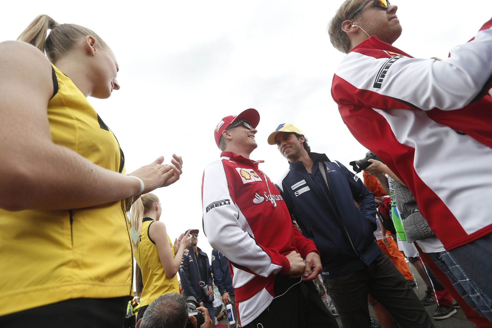Raikkonen: Jó irányba változtak a dolgok Vettel érkezésével
