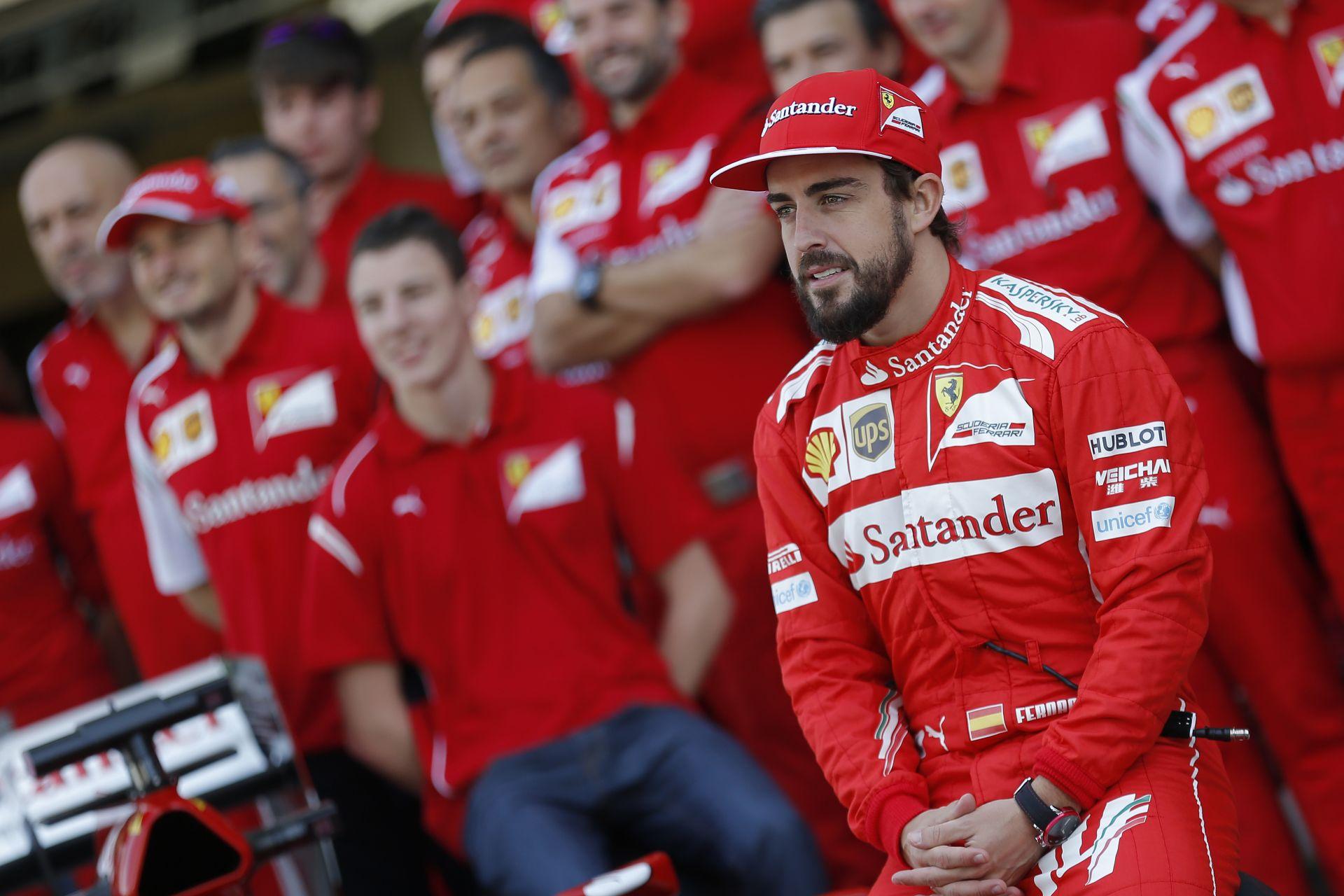 Alonso elismerte, sajnos túl sokáig volt a Ferrari versenyzője