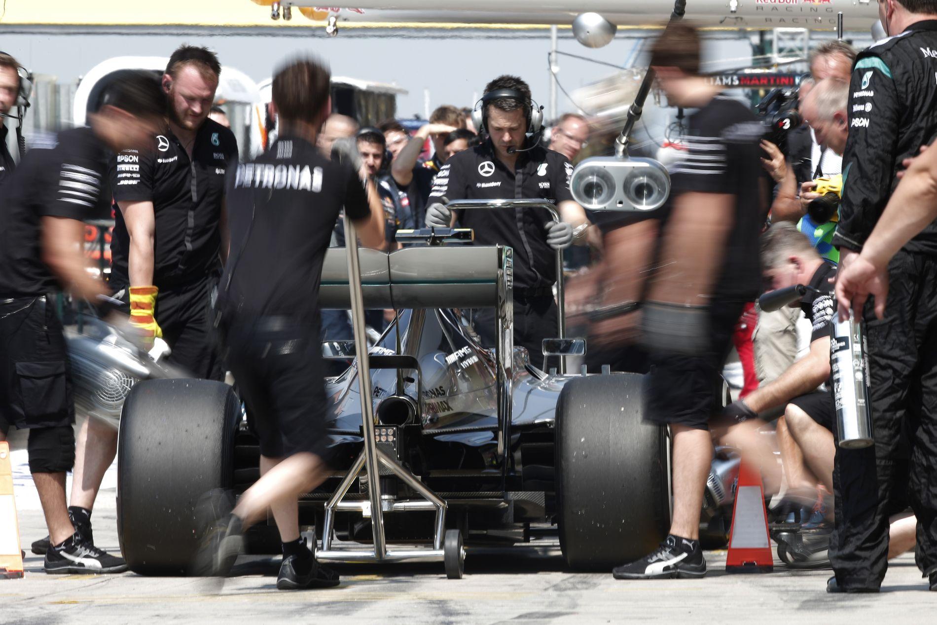 A Pirelli előre sejtette, hogy esetleg necces lehet a helyzet Spában?