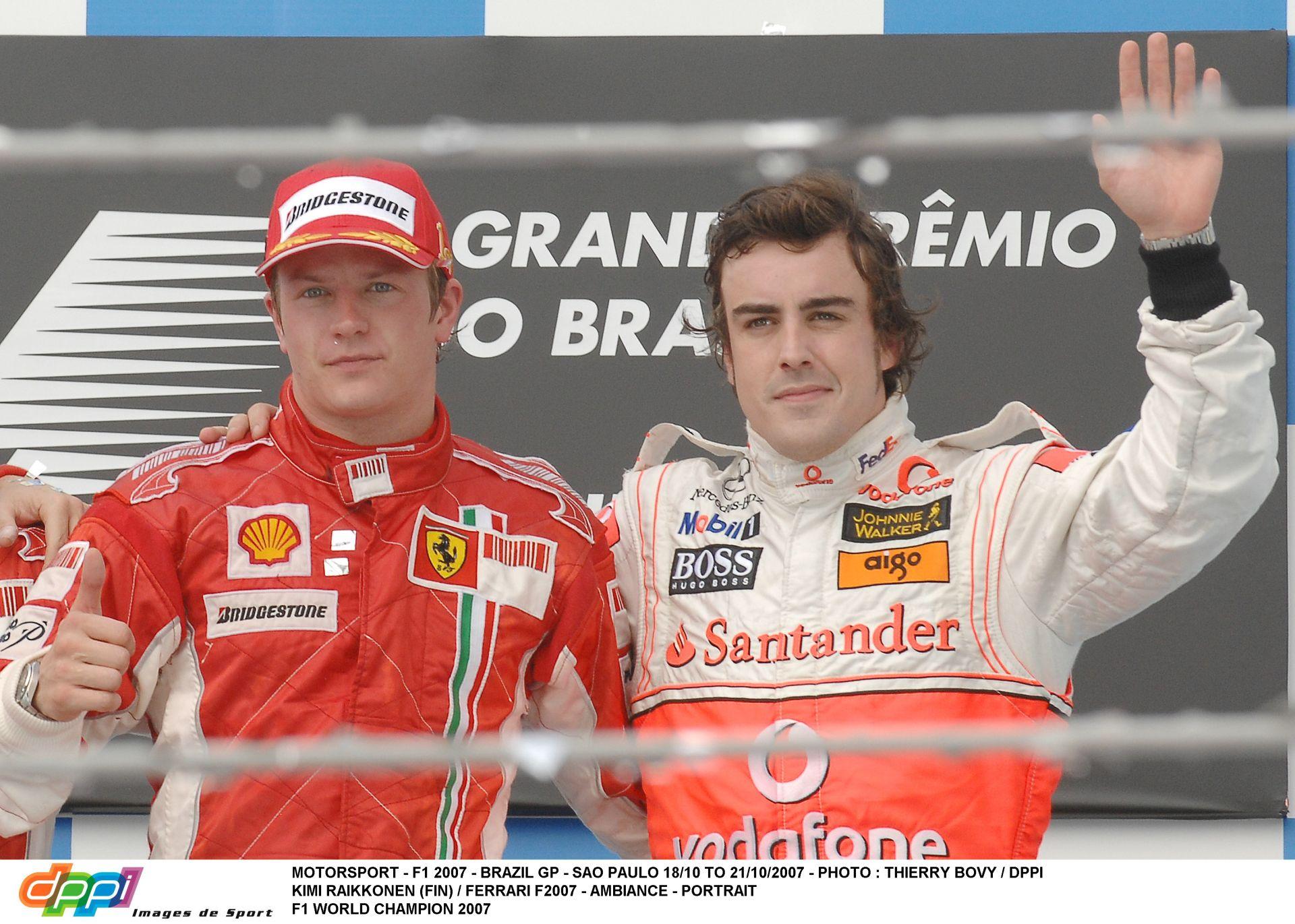 Pontosan emiatt nem lett háromszoros, vagy négyszeres bajnok Raikkönen és Alonso
