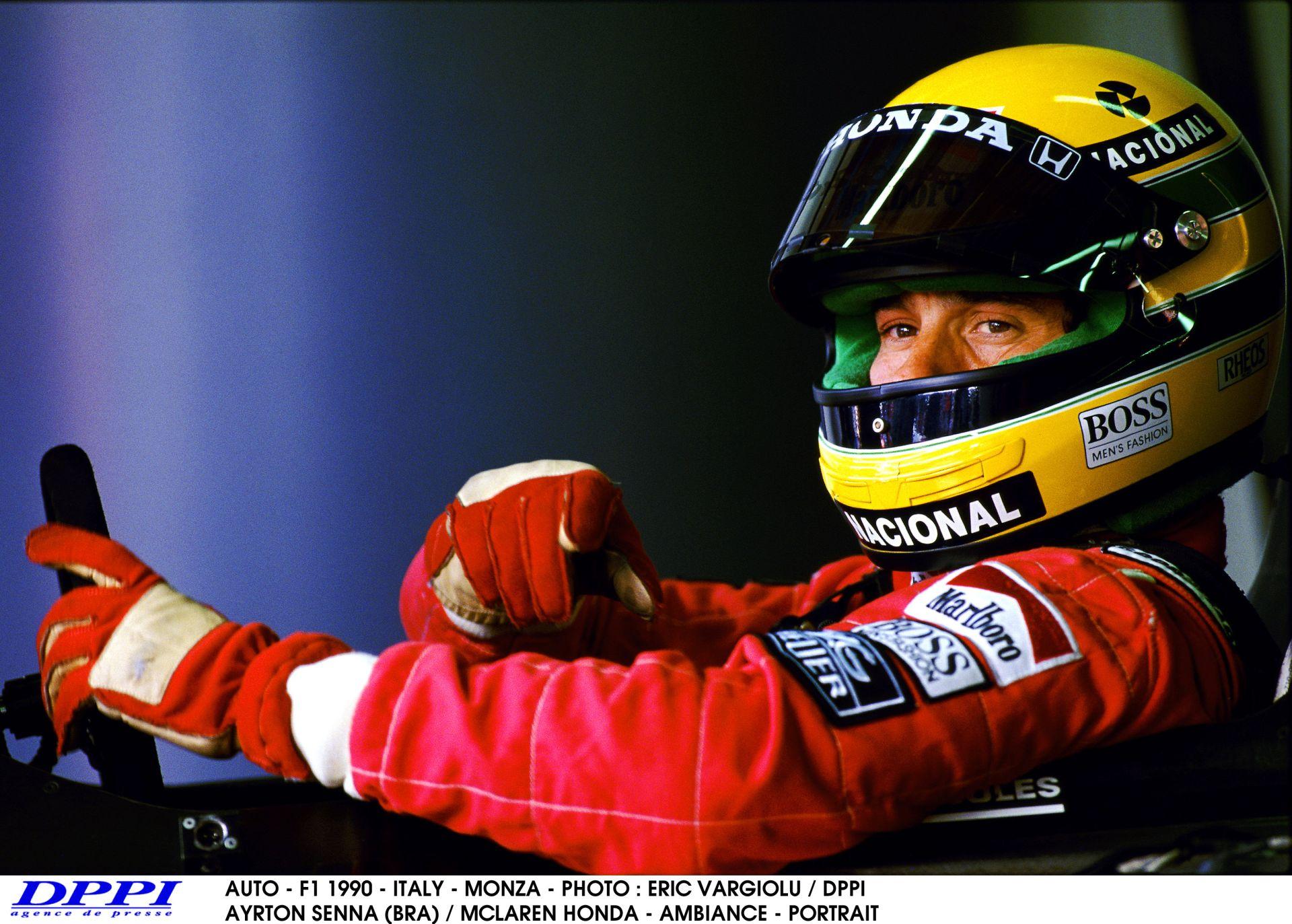 Egy egészen kivételes 25 perces F1-es felvétel Monzából: Így üldözi Berger Sennát