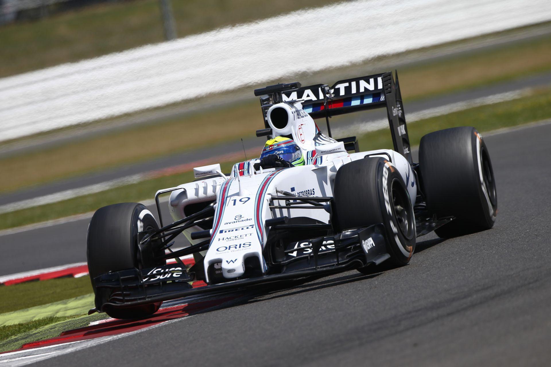 Videón Massa nagyon durva startja Silverstone-ból: A brazil betette a Williamst