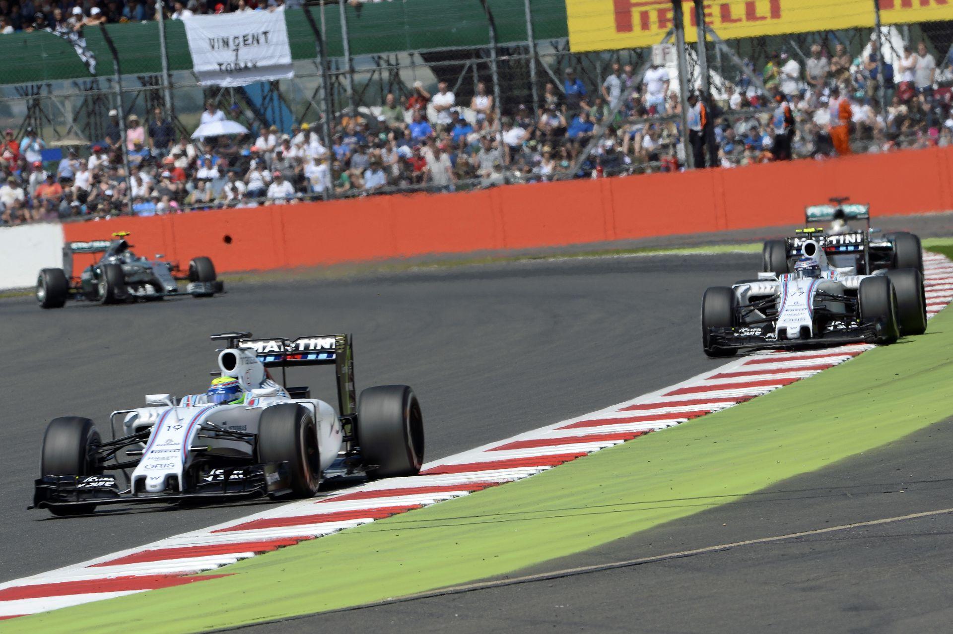 Williams: Nem volt csapatutasítás a Brit Nagydíjon!