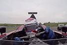 Egy F1-es videó, amitől kiráz a hideg: Minardi PS01 napjainkban